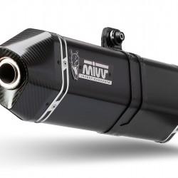Mivv Speed Edge Black Stainless Steel  BMW R 1200 R MPN - B.028.LRB