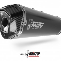 Mivv Delta Race Black Stainless Steel BMW S 1000 RR MPN - B.031.LDRB