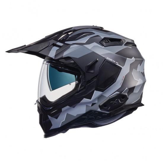 Nexx X.Wed 2 Hill End Black Grey Matt Full Face Helmet