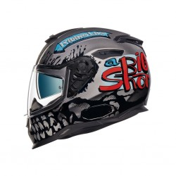Nexx SX.100 Big Shot Dark Grey Helmet