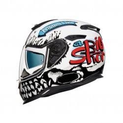 Nexx SX.100 Big Shot White Helmet