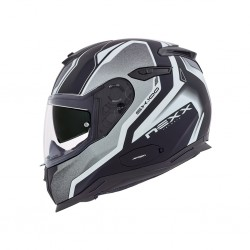 Nexx SX.100 Blast Black Matt Full Face Helmet