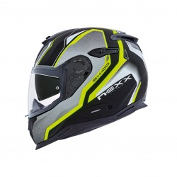 Nexx SX.100 Blast Neon Yellow Matt Full Face Helmet