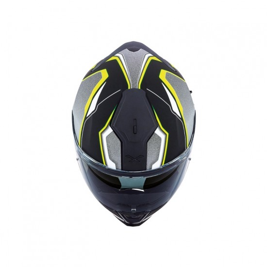 Nexx SX.100 Blast Neon Yellow Matt Full Face Helmet