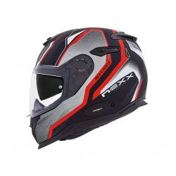 Nexx SX.100 Blast Red Matt Full Face Helmet