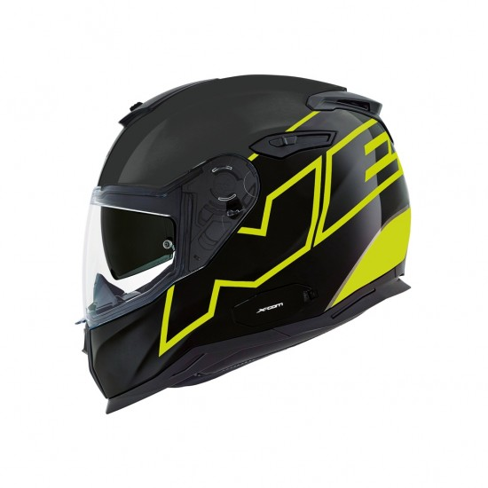 Nexx SX.100 Orion Neon Yellow Matt Full Face Helmet
