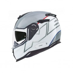 Nexx SX.100 Orion White Grey Full Face Helmet