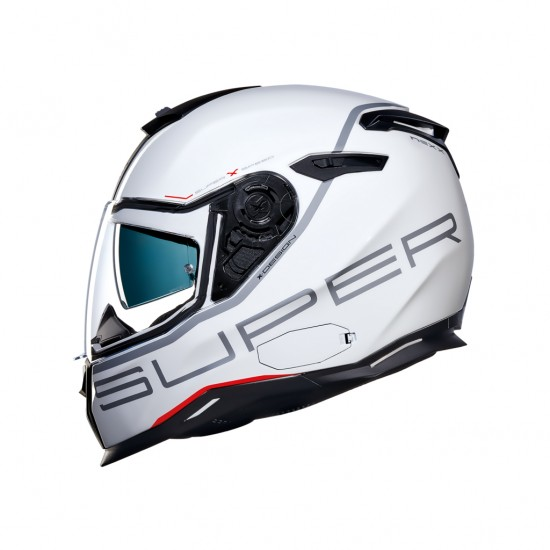 Nexx SX.100 Superspeed White Full Face Helmet