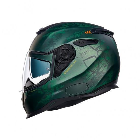Nexx SX.100 Toxic Forest Matt Full Face Helmet