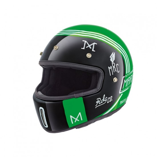 Nexx X.G100 Muddy Hog Green Full Face Helmet