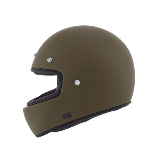Nexx X.G100 Purist Military Green Matt Full Face Helmet