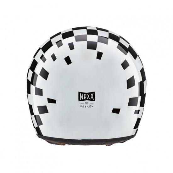 Nexx X.G100 Speedking White Full Face Helmet