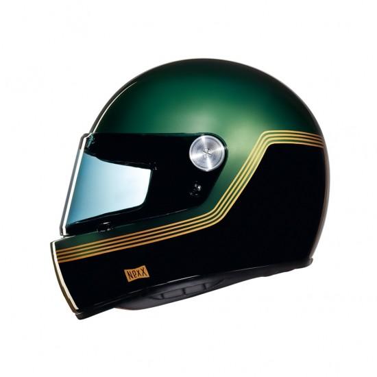Nexx X.G100R Motordrome Green Full Face Helmet
