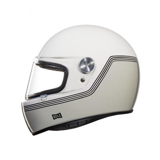Nexx X.G100R Motordrome White Full Face Helmet