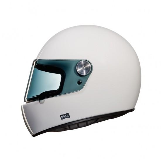 Nexx X.G100R Purist White Full Face Helmet
