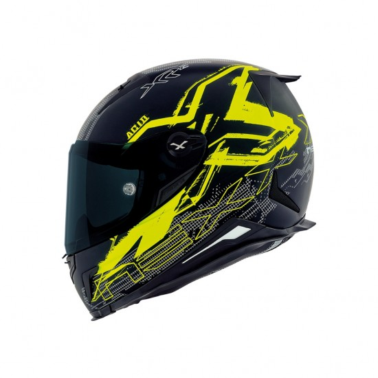 Nexx X.R2 Acid Neon Yellow Full Face Helmet