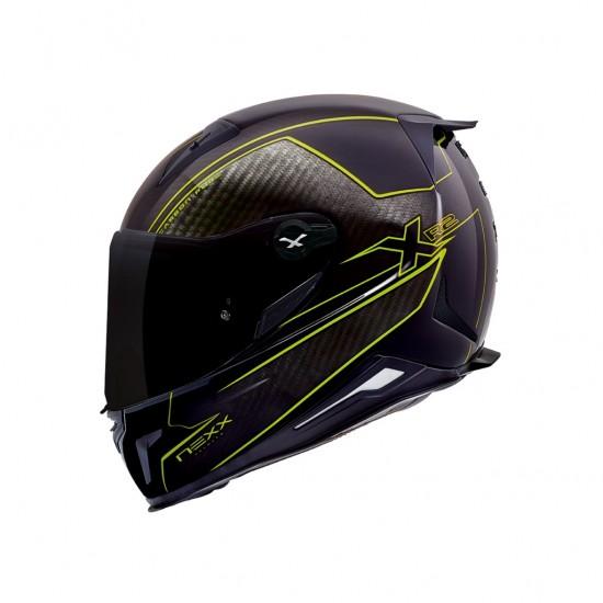 Nexx X.R2 Carbon Pure Neon Yellow Full Face Helmet