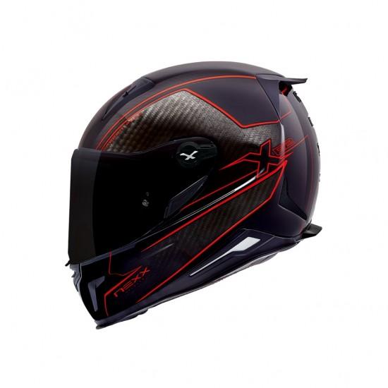 Nexx X.R2 Carbon Pure Red Full Face Helmet