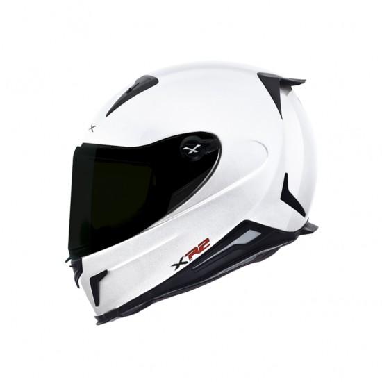 Nexx X.R2 Plain White Full Face Helmet