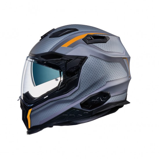 Nexx X.WST 2 Motrox Titanium Orange Matt Full Face Helmet