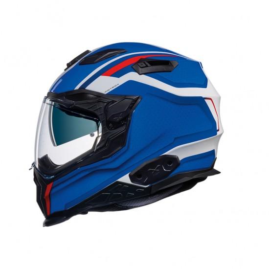 Nexx X.WST 2 Motrox White Blue Red Full Face Helmet