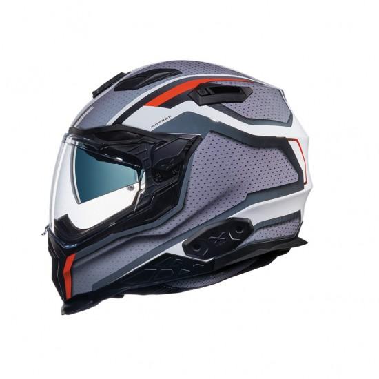 Nexx X.WST 2 Motrox White Grey Red Full Face Helmet