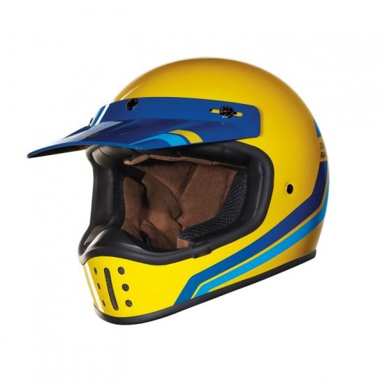 Nexx X.G200 Desert Race Yellow Off Road Helmet