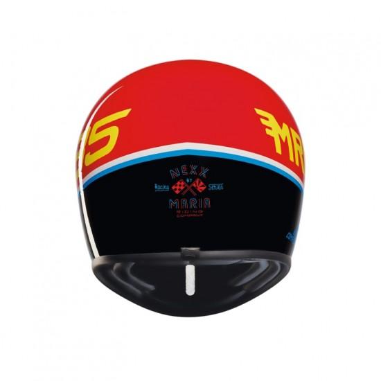 Nexx X.G200 Dusty Frog Red Black Off Road Helmet