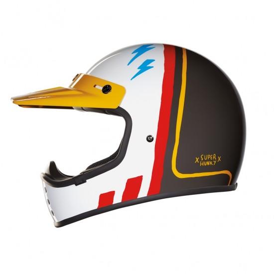 Nexx X.G200 Superhunky Concrete Off Road Helmet