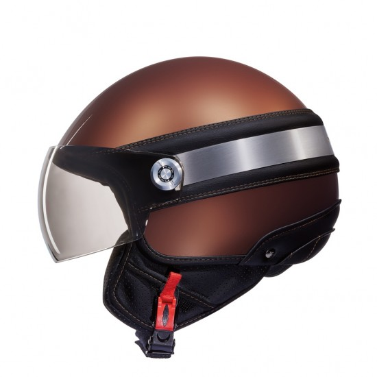 Nexx SX.60 Ice 2 Chocolate Brown Open Face Helmet
