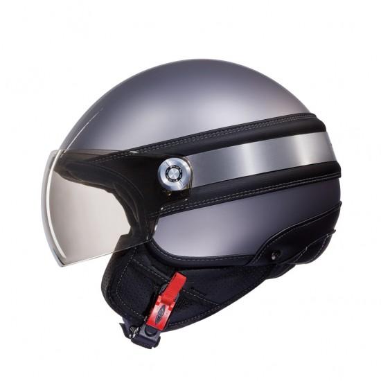 Nexx SX.60 Ice 2 Dark Grey Open Face Helmet