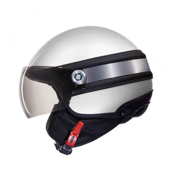 Nexx SX.60 Ice 2 White Open Face Helmet