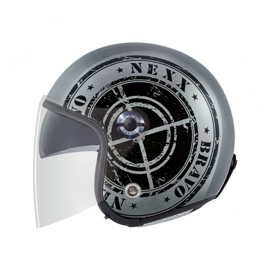 Nexx X.70 Bravo Dark Grey Open Face Helmet