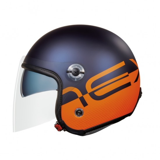 Nexx X.70 City X Blue Orange Matt Open Face Helmet