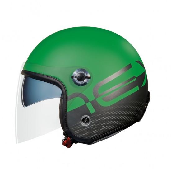 Nexx X.70 City X Green Matt Open Face Helmet
