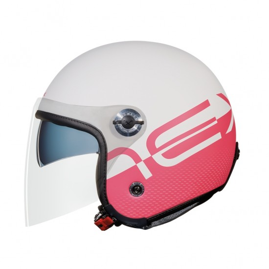 Nexx X.70 City X White Pink Open Face Helmet