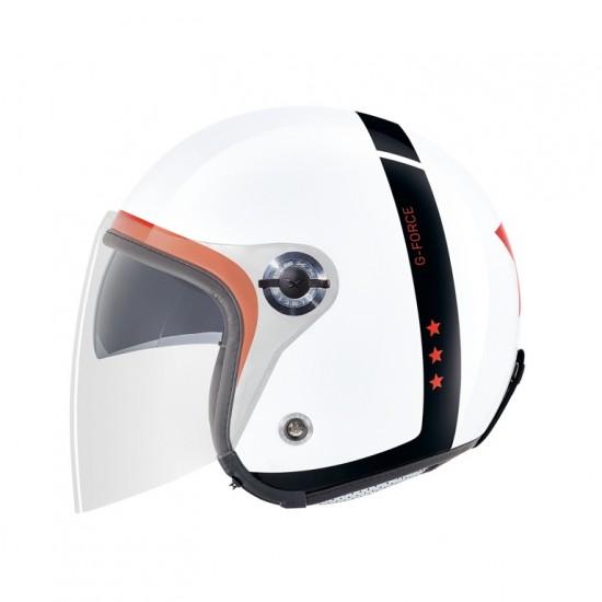Nexx X.70 G-Force White Open Face Helmet