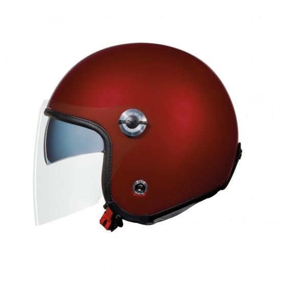 Nexx X.70 Plain Burgundy Open Face Helmet