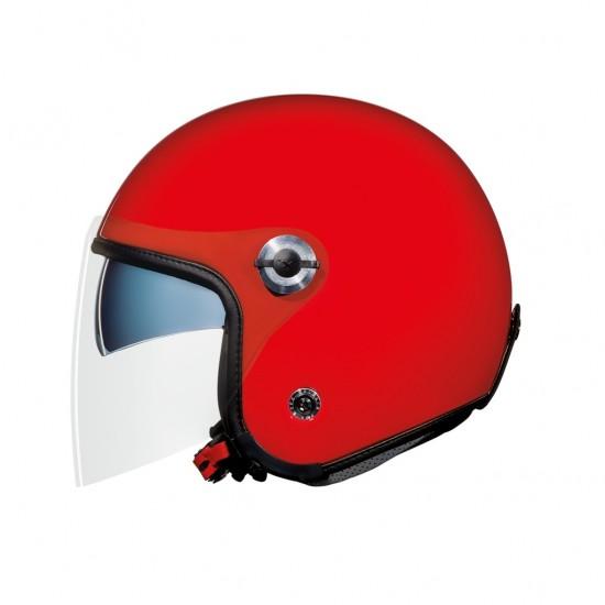 Nexx X.70 Plain Red Open Face Helmet