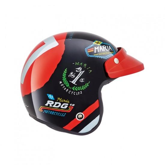 Nexx X.G10 Bad Loser Black Open Face Helmet