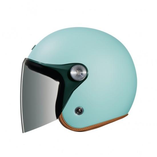 Nexx X.G10 Clubhouse Aquamarine Matt Open Face Helmet