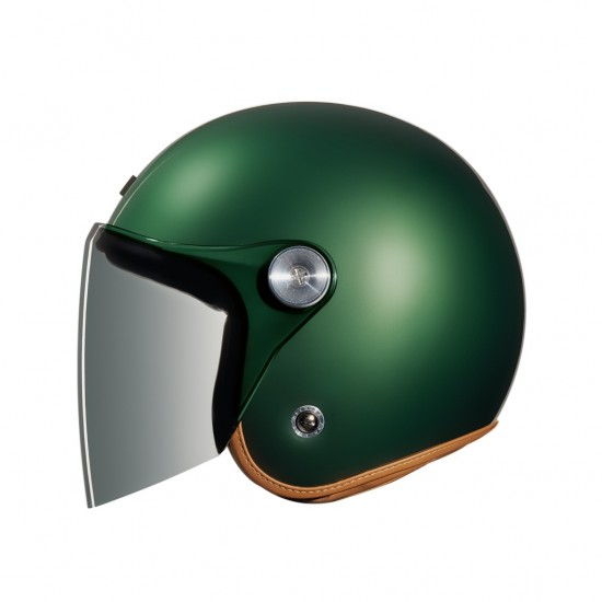 Nexx X.G10 Clubhouse English Green Open Face Helmet