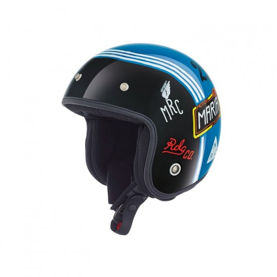 Nexx X.G10 Muddy Hog Blue Open Face Helmet