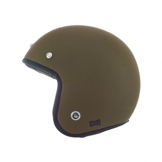 Nexx X.G10 Purist Military Green Matt Open Face Helmet