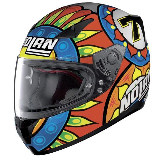 Nolan N60-5 Gemini Replica C Davies Metal Black Full Face Helmet