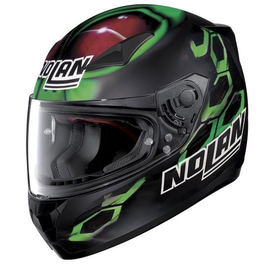 Nolan N60-5 Gemini Replica E Bastianini Flat Black Full Face Helmet