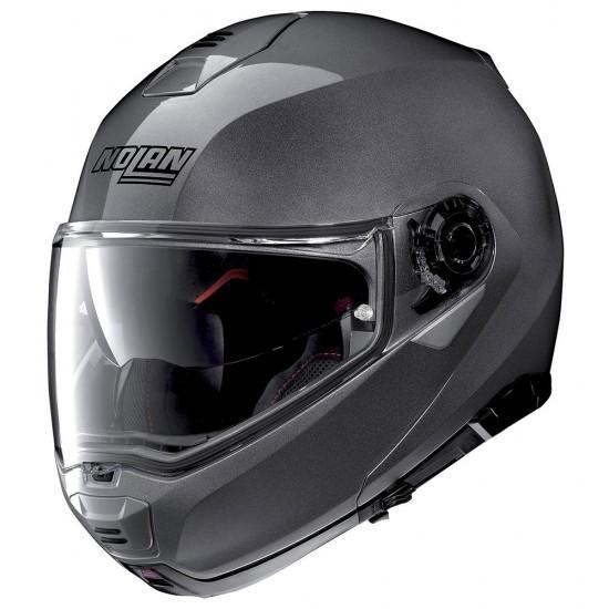 Nolan N100-5 Classic N-Com Lava Grey Modular Helmet