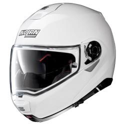 Nolan N100-5 Classic N-Com Metal White Modular Helmet