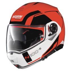 Nolan N100-5 Consistency N-Com Corsa Red Modular Helmet
