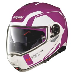 Nolan N100-5 Consistency N-Com Fuchsia Kiss Modular Helmet